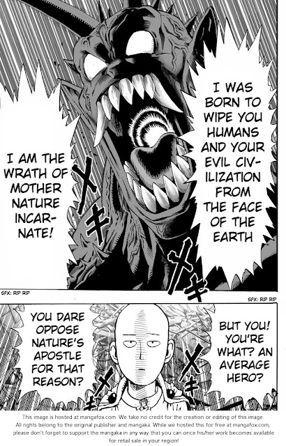 One Punch Man Manga chapter 1 page 16