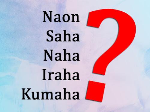 contoh kata tanya dalam bahasa Sunda