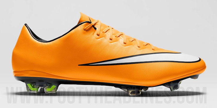 91541250acb6 This is the new orange Nike Mercurial Vapor X 2014-2015 Soccer Cleat.