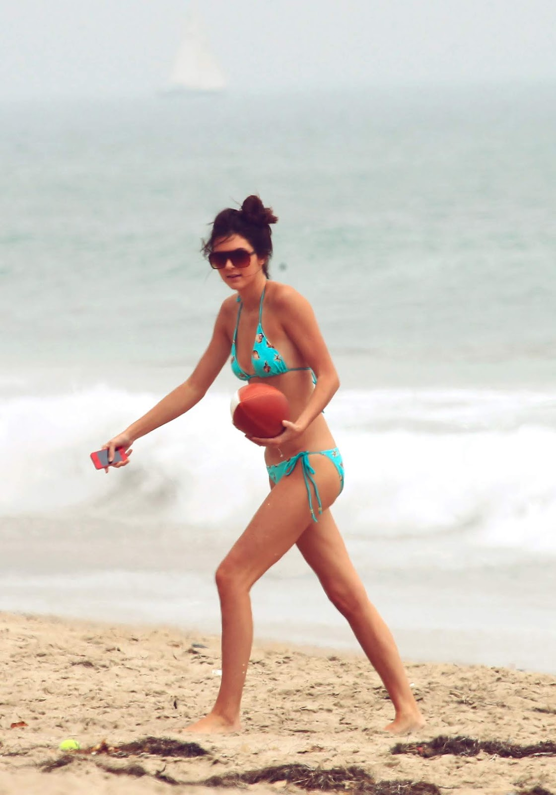 12 - At a Beach with friends in Malibu California on July 14, 2012