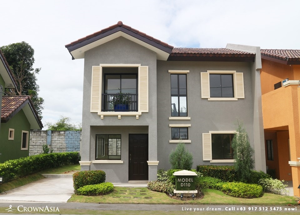 Citta Italia - Designer 110 With Balcony| Crown Asia Prime House for Sale in Molino Bacoor Cavite