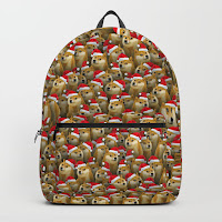 Рюкзак с новогодними Doge