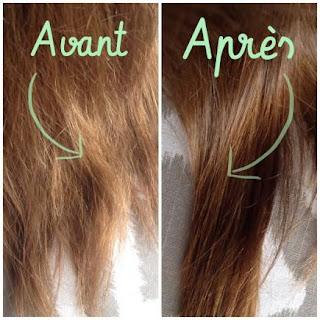 Masque pour cheveux crépus enrichi en huile de carotte.