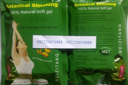 Pelangsing Meizitang Botanical Slimming Softgel