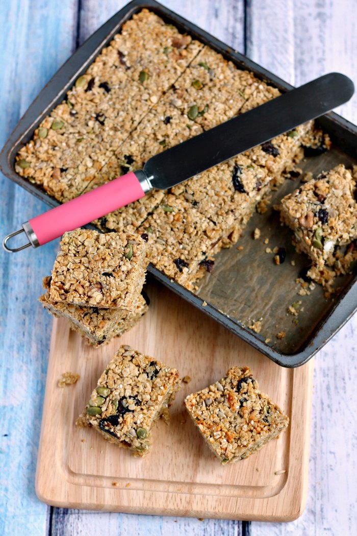 Fruit & Nut Oat Bars