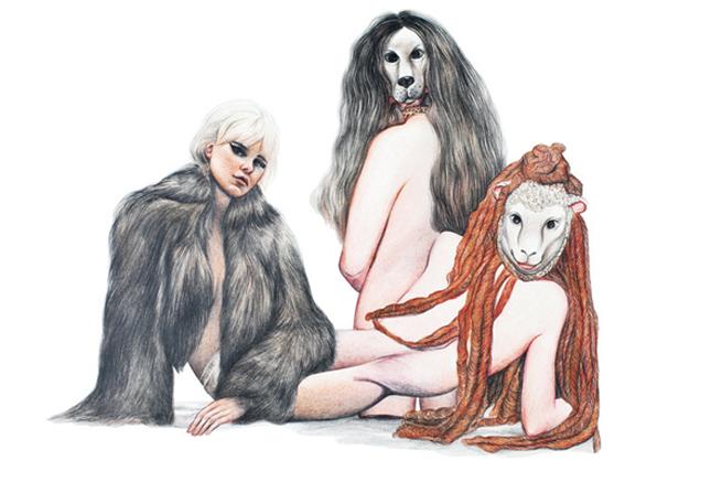 Оригинальные рисунки. Marianna Ignataki 23