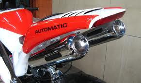 Modif mio Gaya motor GP Knalpot