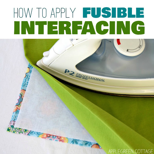 Tutorial: How to apply fusible interfacing to your fabric