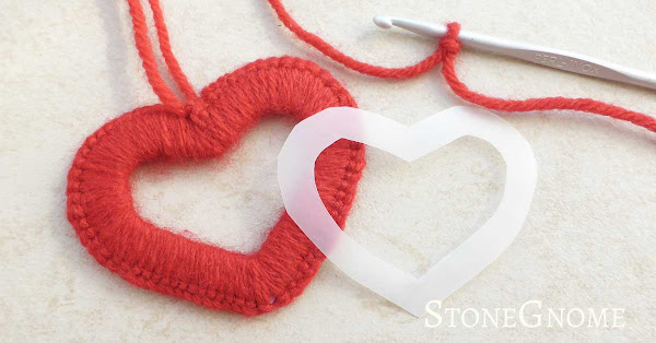 Crocheted Heart Shape