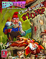 Gnomeland Security Reminds me of Clockwork Stomp