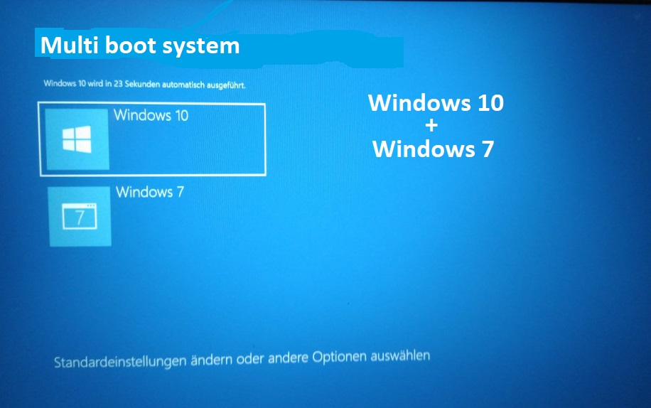 How-to-install-multiple-os-in-single-PC, How-dual-boot-PC