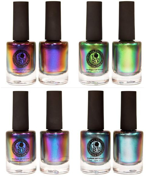 Chrome Nail Colors: Unpredictable ~Elemental Black
