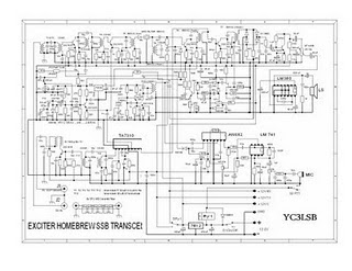 Transceiver Homebrew QRP SSB 80M Band
