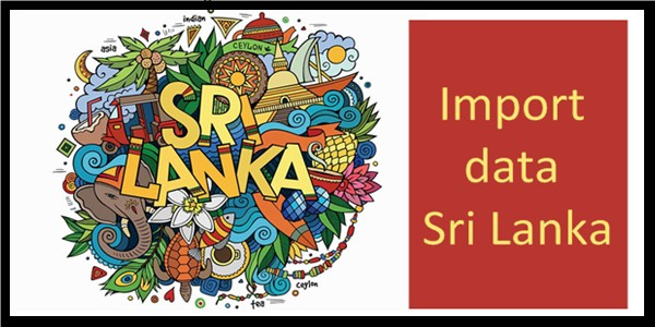 Why you need imports data in Sri Lanka