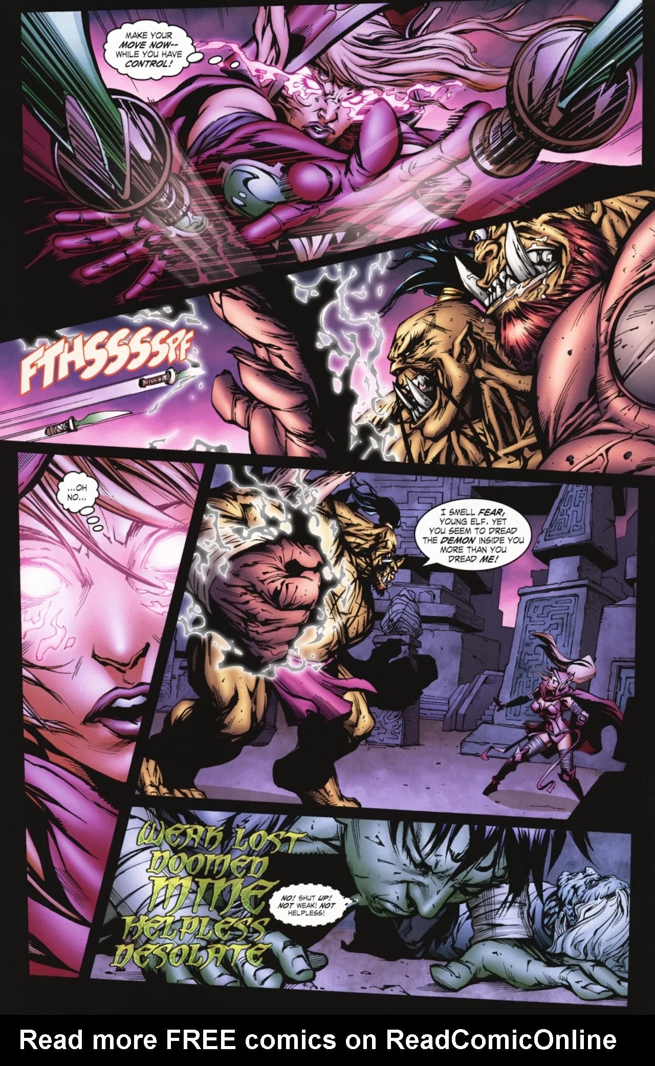 Read online World of Warcraft comic -  Issue #20 - 11