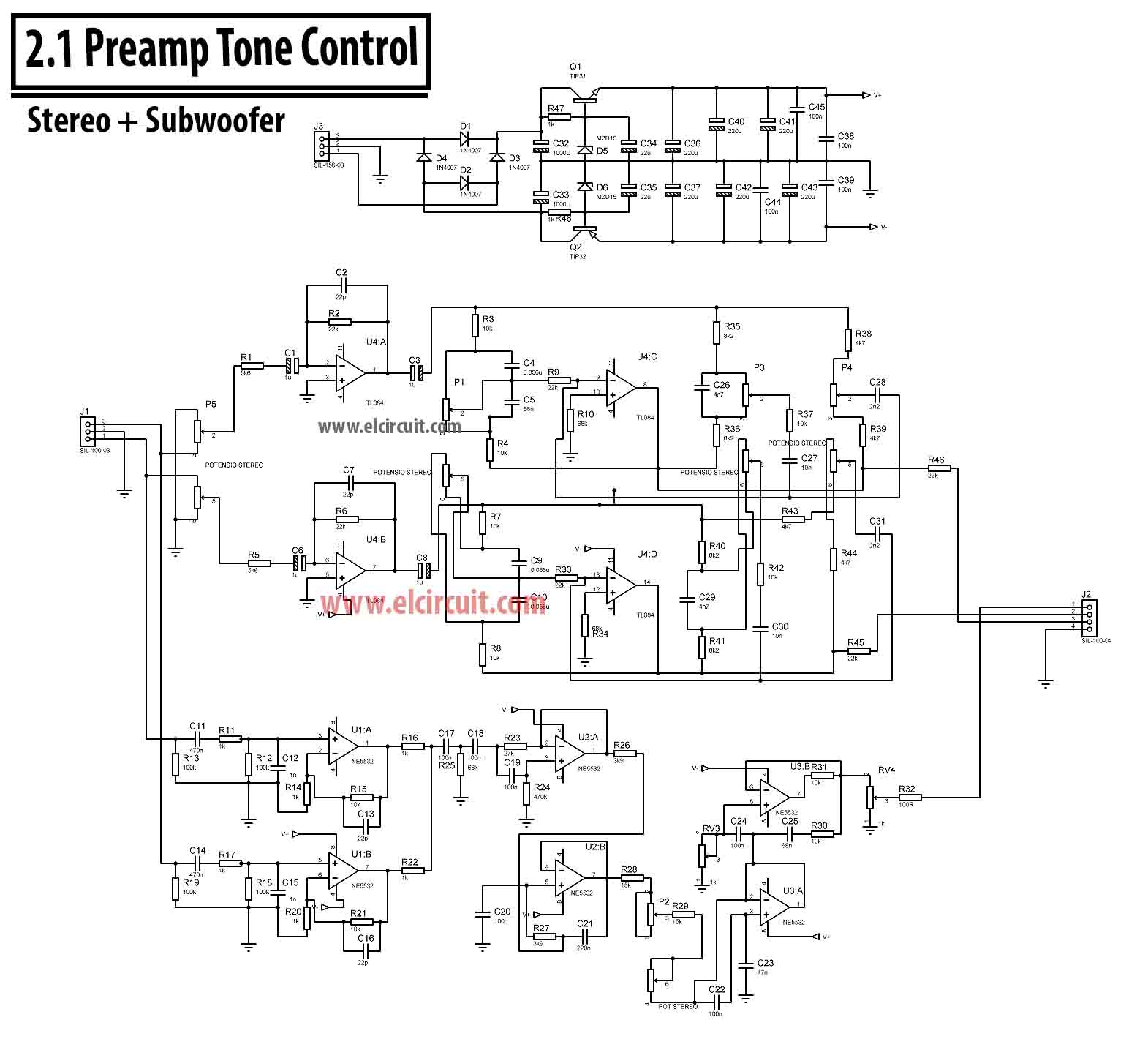 small resolution of 2 1 amplifier circuit board
