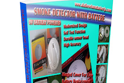 SMOKE DETECTOR WITH BATTERE PORTABLE SYSTEM