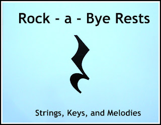 Rock - a - Bye Rests - Learn the Names of Musical Rests photo