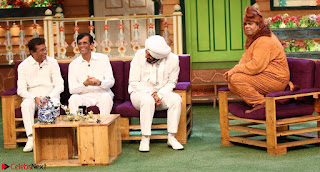 The Kapil Sharma Show with Abbas Mustan and Machine cast   TV Show Pics March 2017 09.JPG