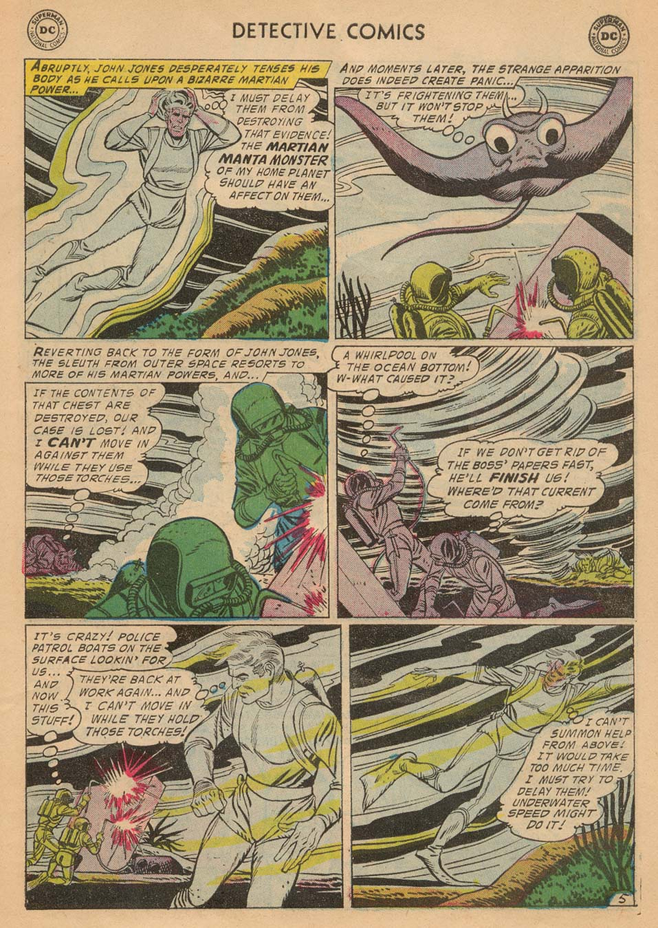 Read online Detective Comics (1937) comic -  Issue #242 - 31