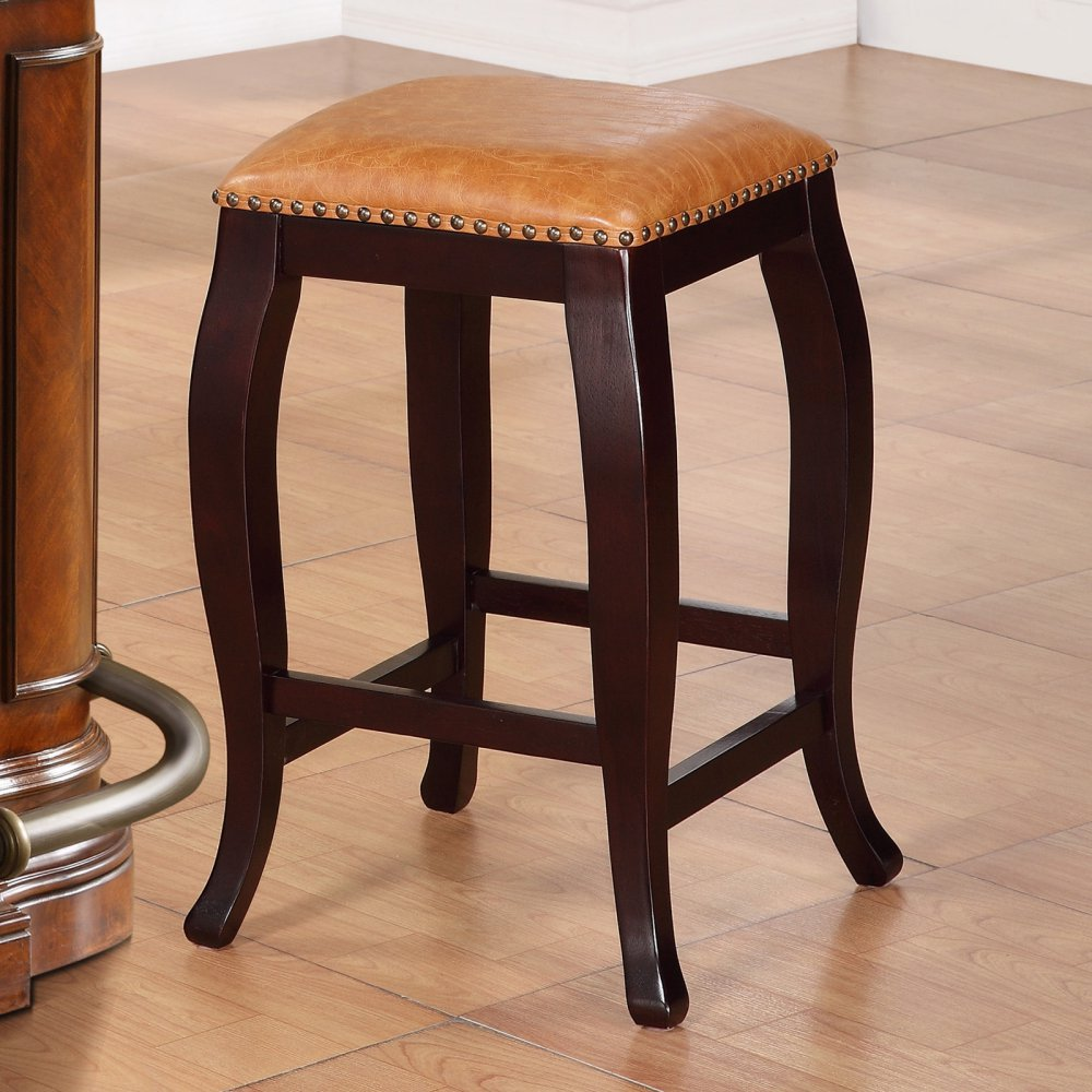 Bistro Classic Counter Bar Stools 24 Inch Seat Wood Chairs Pub Stool  Kitchen U0026 Dinning Seat Furniture