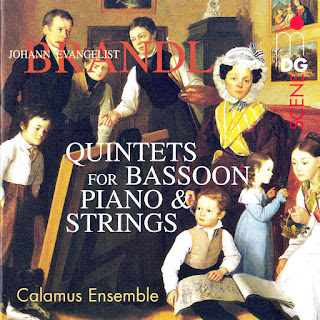 Brandl: Quintets for Bassoon, Piano and Strings, Vol. 2