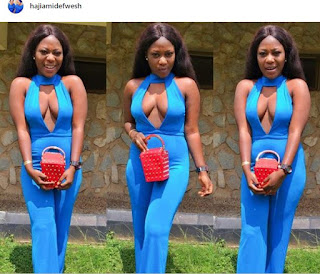 Nigerian Lady Puts Her Fallen Boooobs On Display As She Steps Out (Photos)