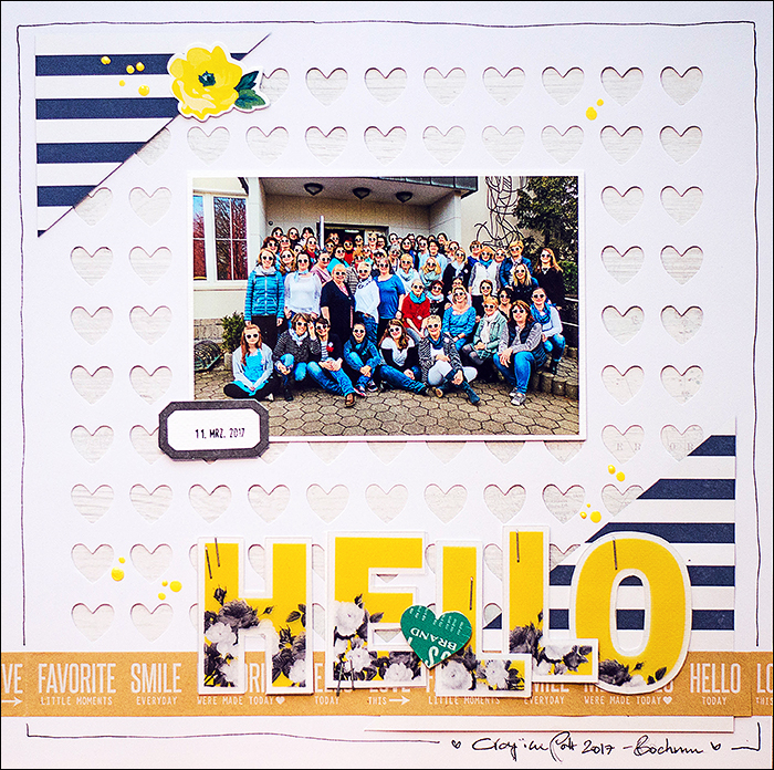 Scrapbooking - be more creative - Crop im Pott