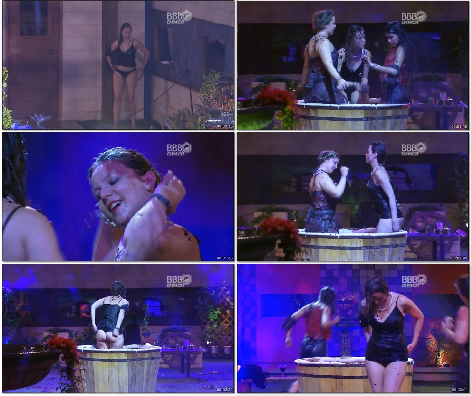 Video – Ana Paula Desclassificada BBB16 na Festa