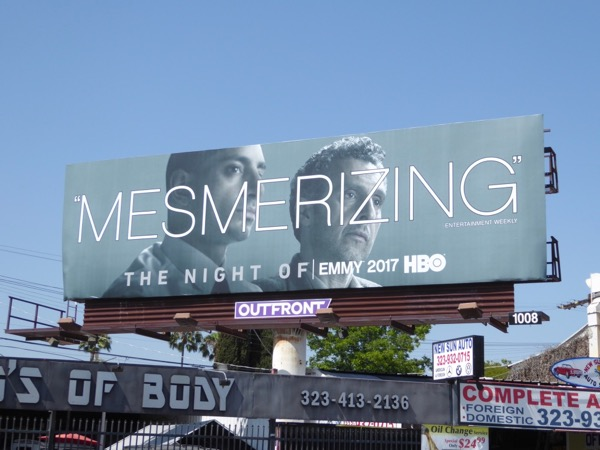 Night Of Mesmerizing Emmy billboard