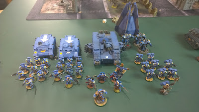 Ultramarines vs The Inquisition - 1500 pt. Video Batrep