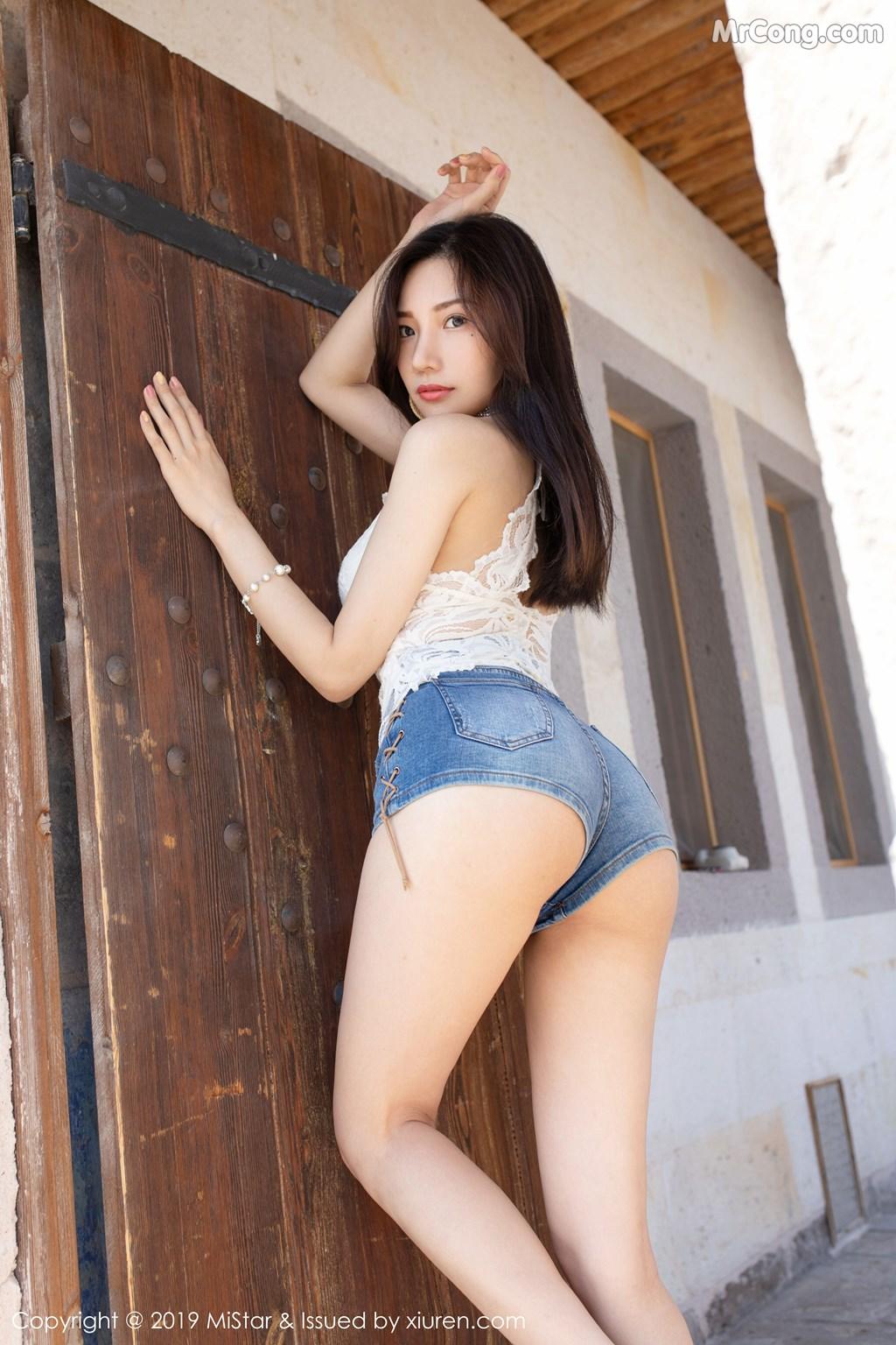 MiStar Vol.307: Xiao Hu Li (小狐狸Kathryn) (34P)