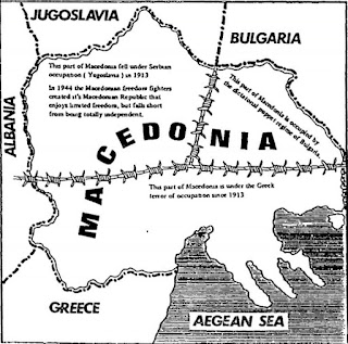 Partitioned Macedonia