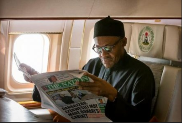 President Buhari Should Stop Reading Newspaper Cartoons and Face The Economy