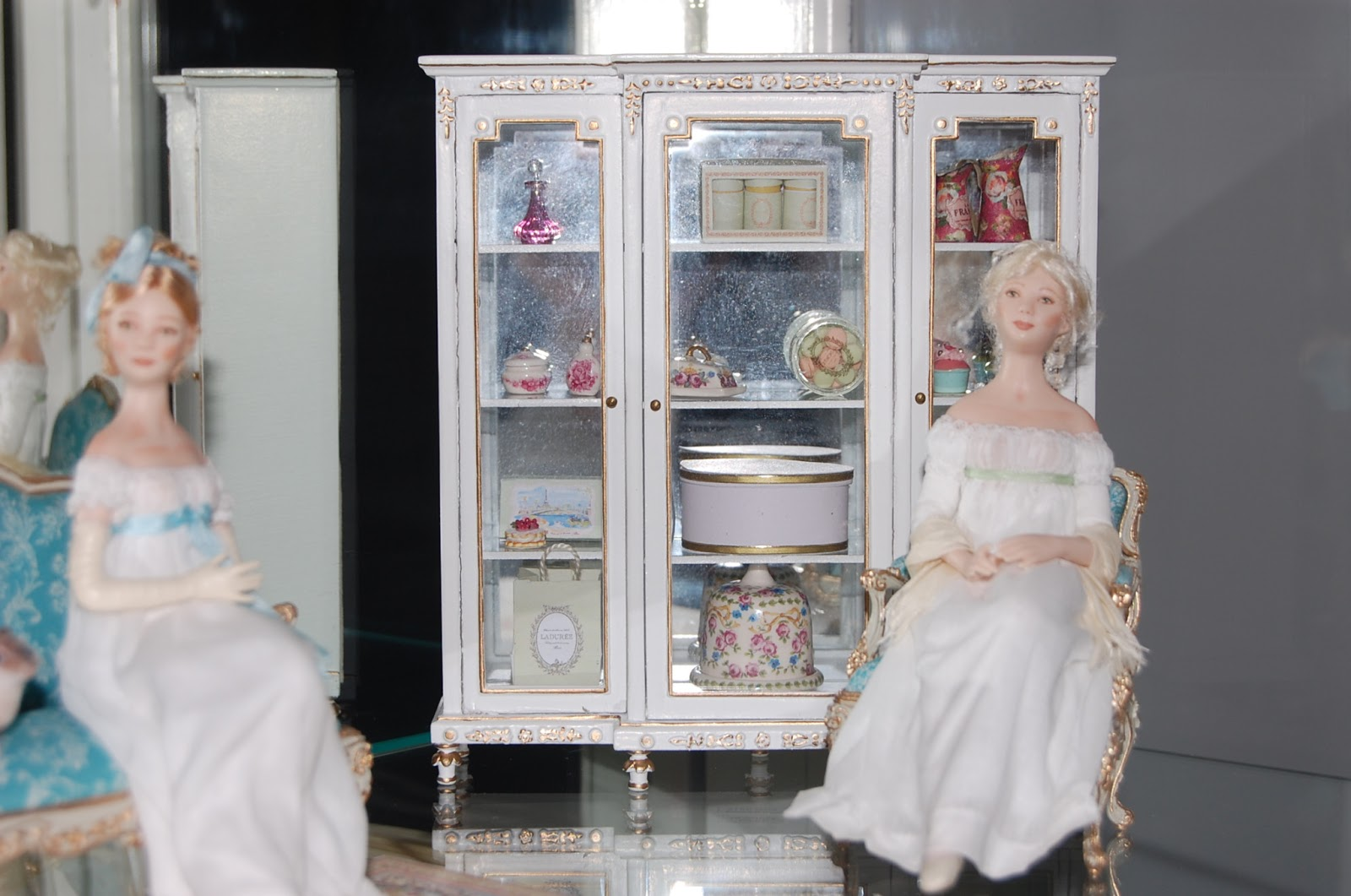 New Curio Cabinet And Doll Shoes