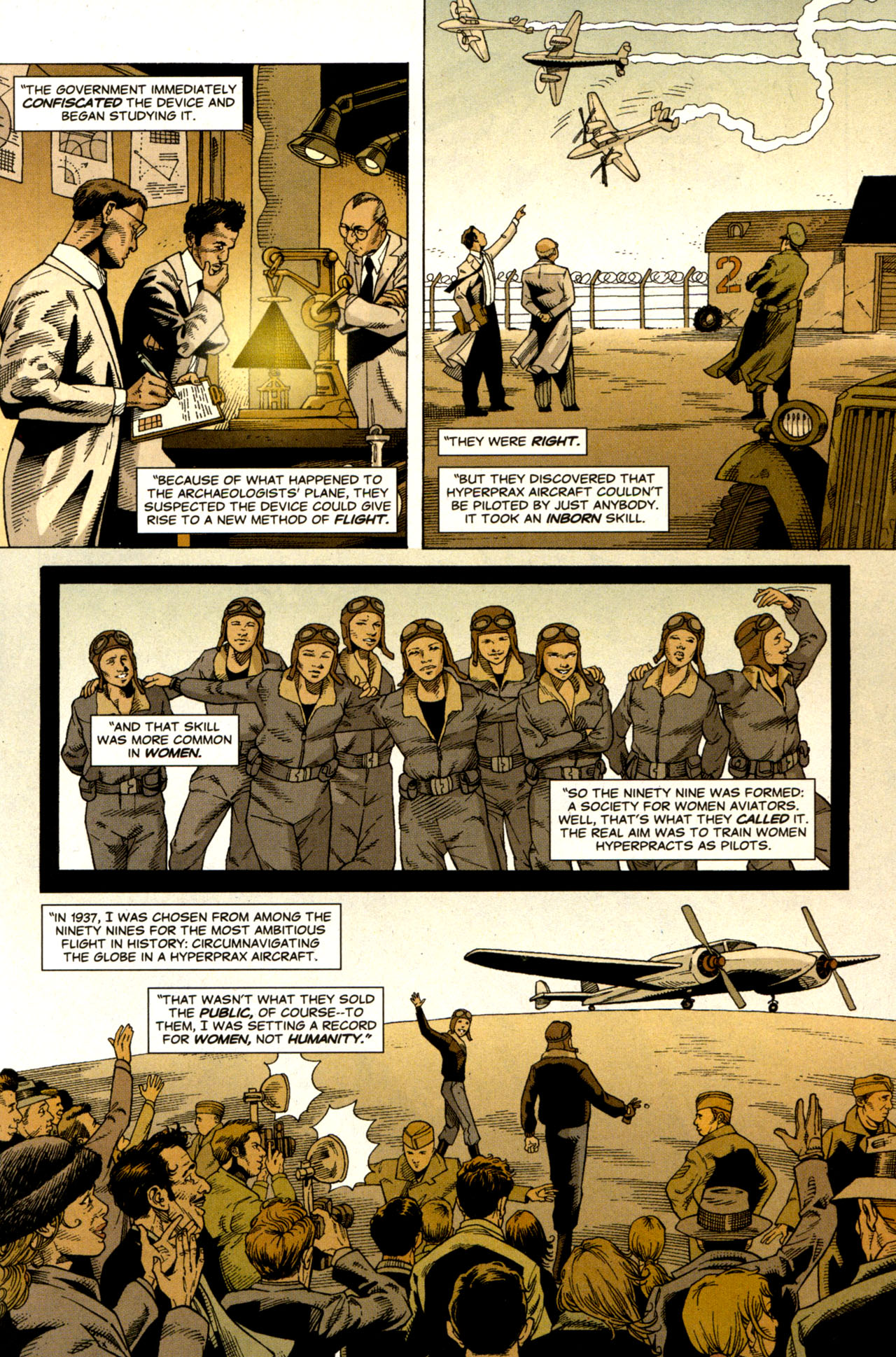 Read online Air comic -  Issue #6 - 6