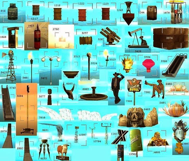 Gtasa Model Id Gta Sa Objects