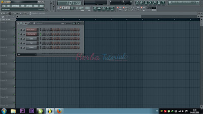 Tampilan FL Studio