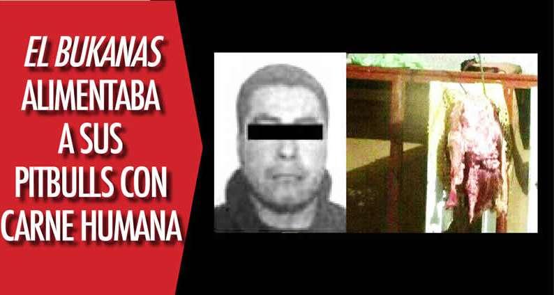 """""""El Bukanas"""" líder Zeta ejecutaba a sus víctimas las descuartizaba y alimentaba a sus pitbulls con su carne"""