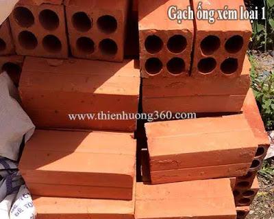 Cách phân biệt gạch ống gạch thẻ chất lượng loại 1: gạch ống xém loại 1