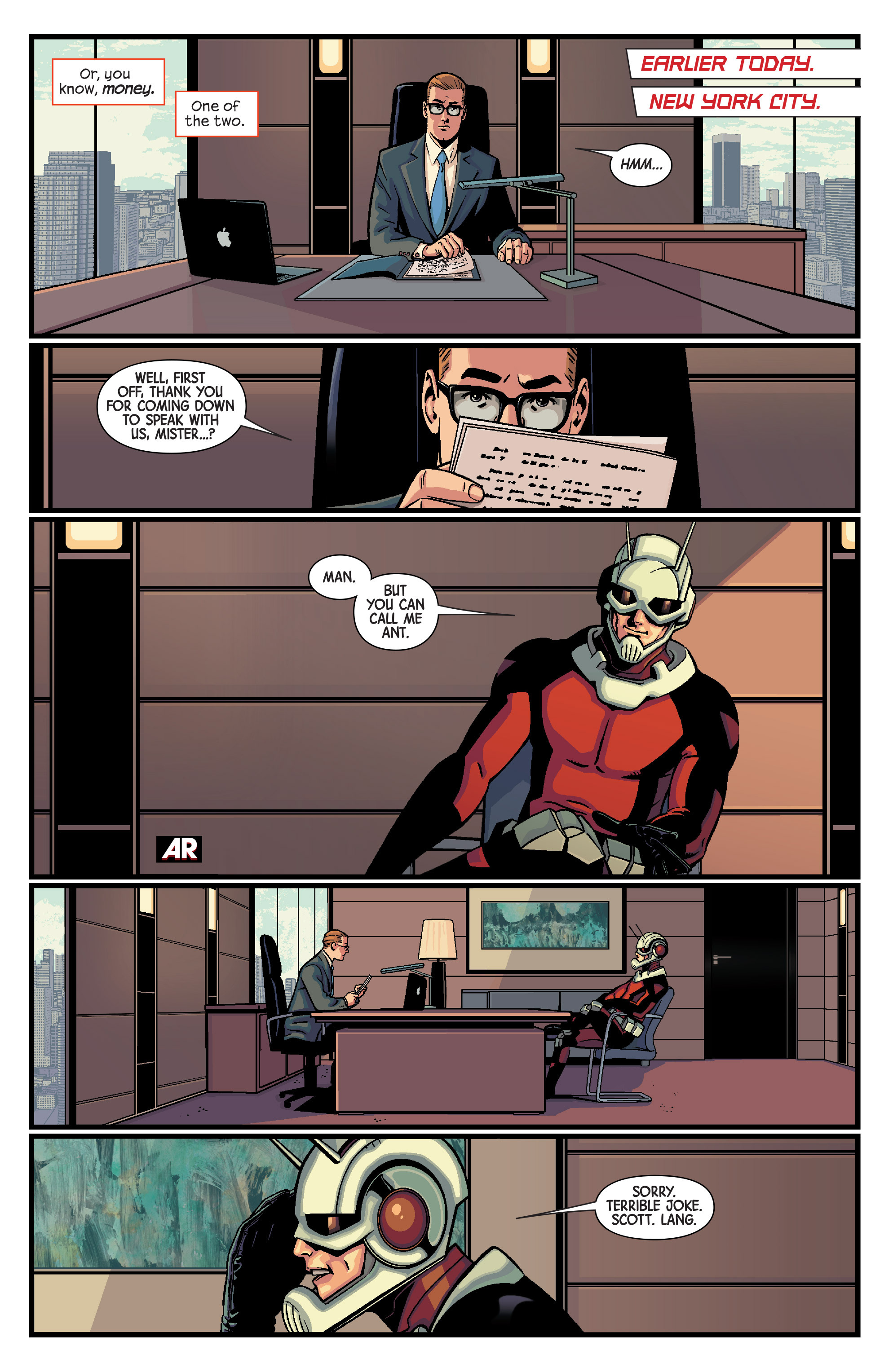 Read online Ant-Man comic -  Issue #1 - 6