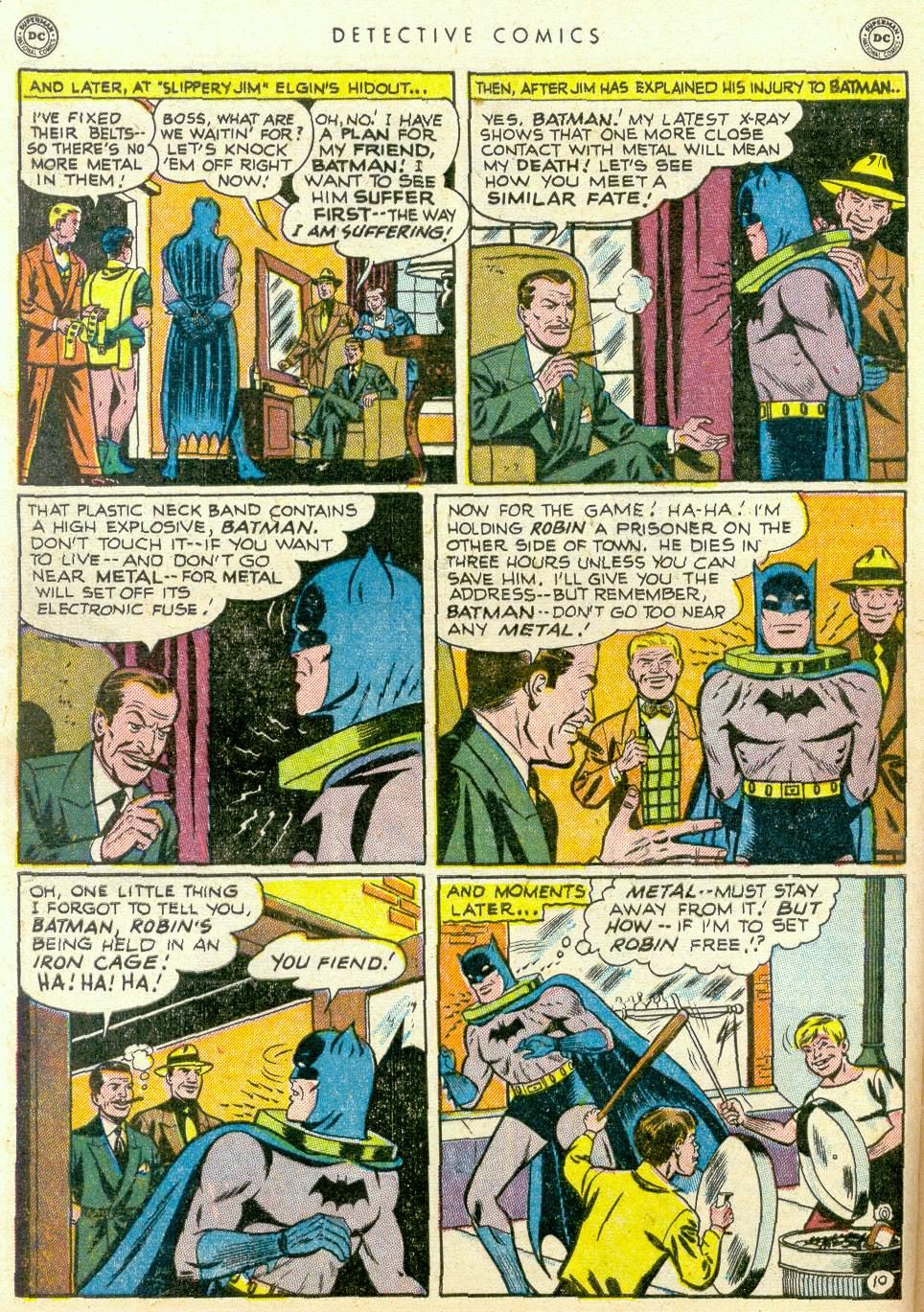 Read online Detective Comics (1937) comic -  Issue #163 - 11