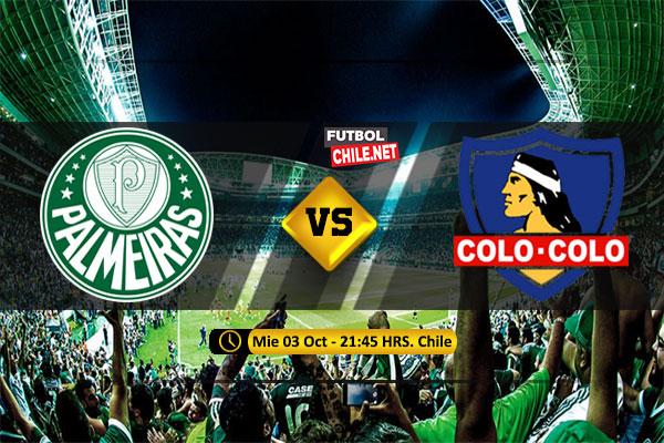Mira Palmeiras vs Colo Colo en vivo y online por los Cuartos de Final Vuelta de la Copa Libertadores