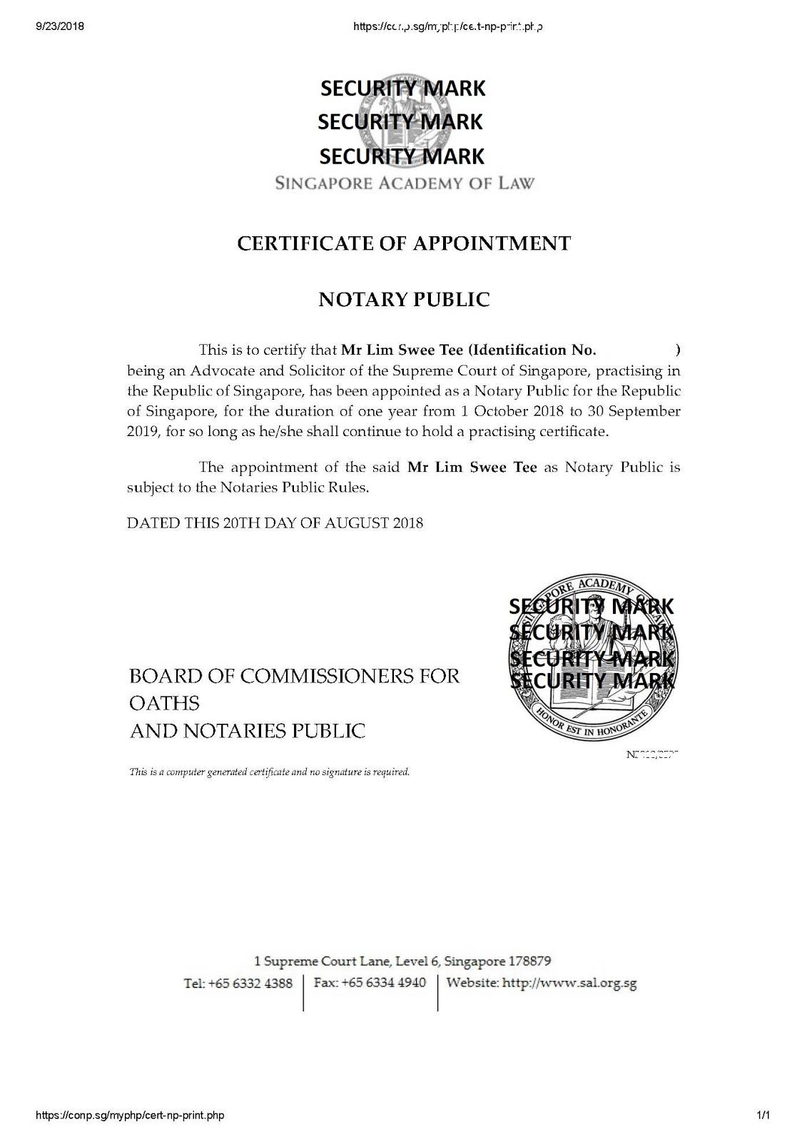 Certified Translation Translation Of Malaysian Documents Prc
