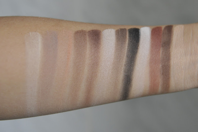 Kat Von D Shade & Light Eye Contour Palette Swatches