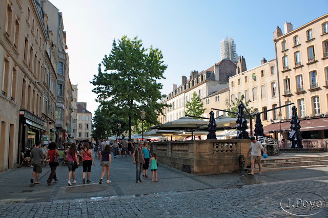Plaza Saint Jacques, Metz