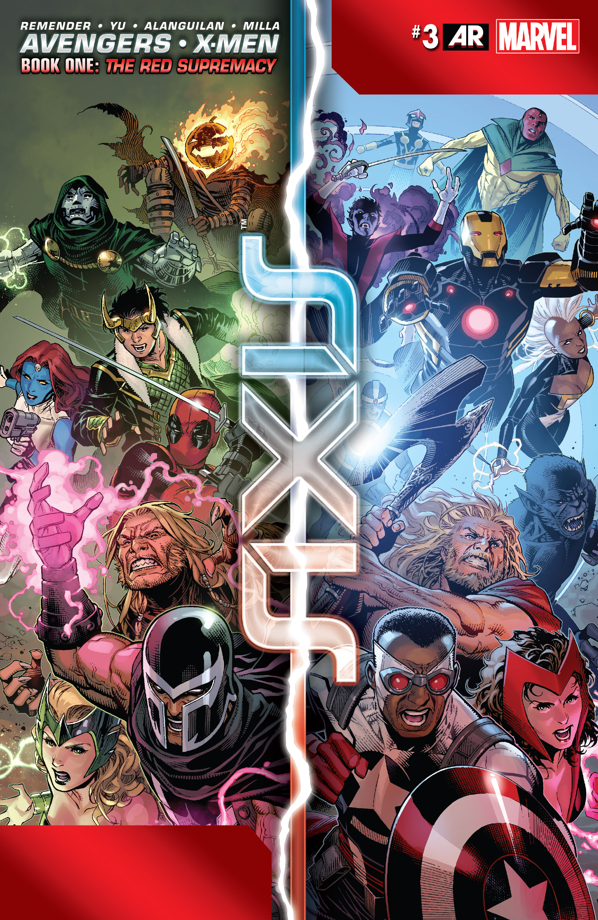 Read online Avengers & X-Men: AXIS comic -  Issue #3 - 1