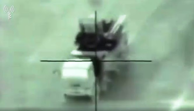 ВПС Ізраїлю опублікували запис знищення сирійського ЗРПК Панцир С-1