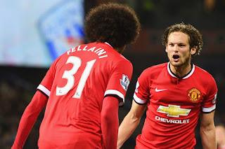Mourinho Pertahankan Fellaini & Blind di Manchester United
