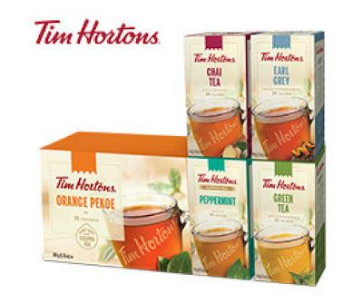 Tim Hortons Tea Mail Coupon